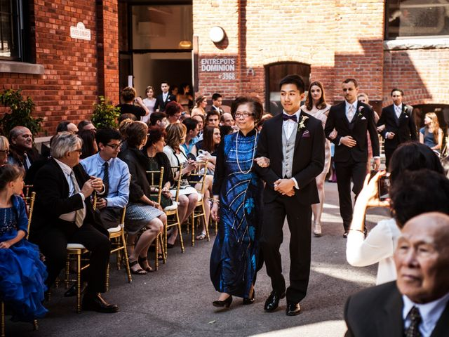 Bao and Marianne's wedding in Montreal, Quebec 5