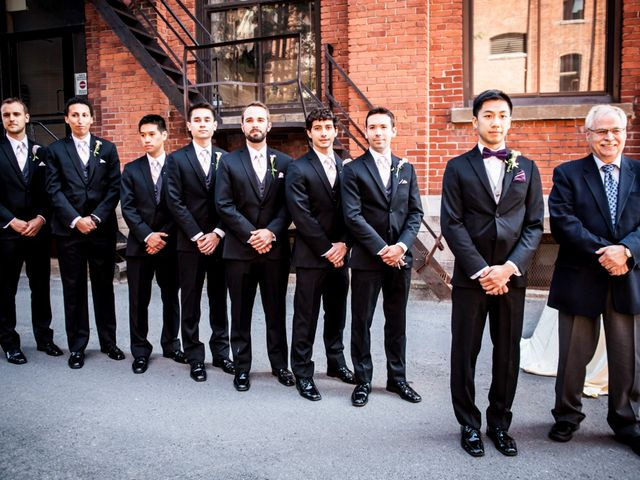 Bao and Marianne's wedding in Montreal, Quebec 8