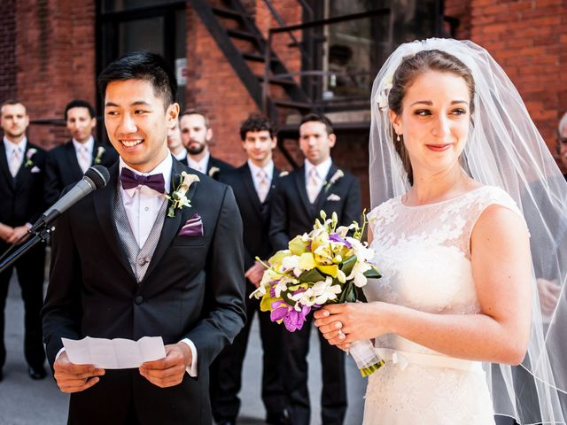 Bao and Marianne's wedding in Montreal, Quebec 9