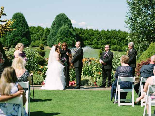Phil and Chantelle's wedding in Richmond, British Columbia 1