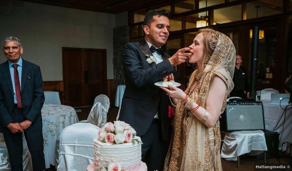 Munis and Liuba's wedding in Niagara Falls, Ontario