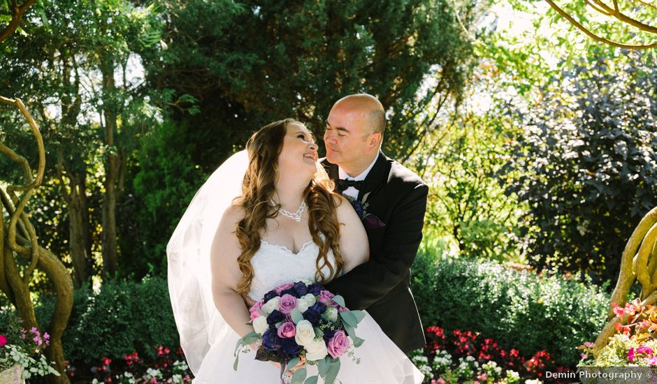 Phil and Chantelle's wedding in Richmond, British Columbia