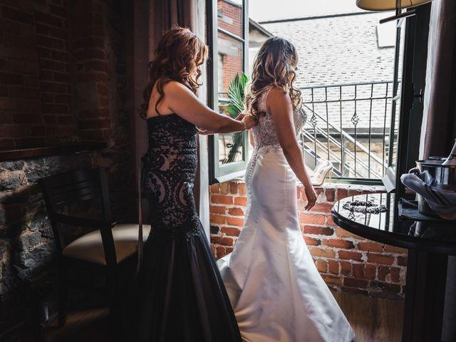 Salim and Alesia's wedding in La Prairie, Quebec 4