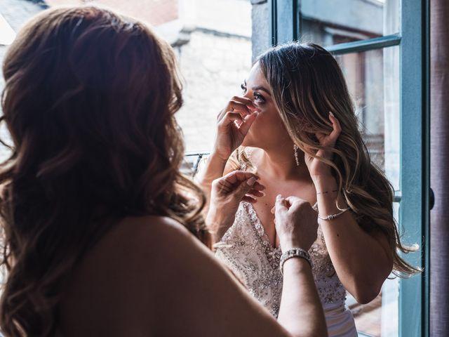 Salim and Alesia's wedding in La Prairie, Quebec 6