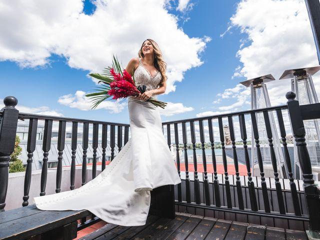 Salim and Alesia's wedding in La Prairie, Quebec 9