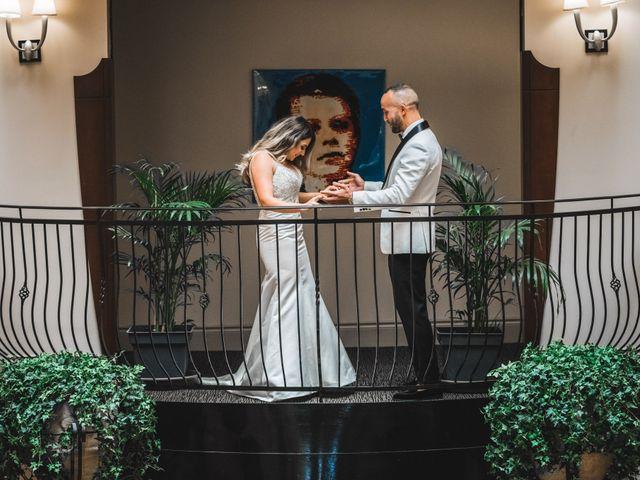 Salim and Alesia's wedding in La Prairie, Quebec 14