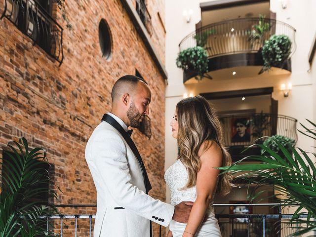 Salim and Alesia's wedding in La Prairie, Quebec 15
