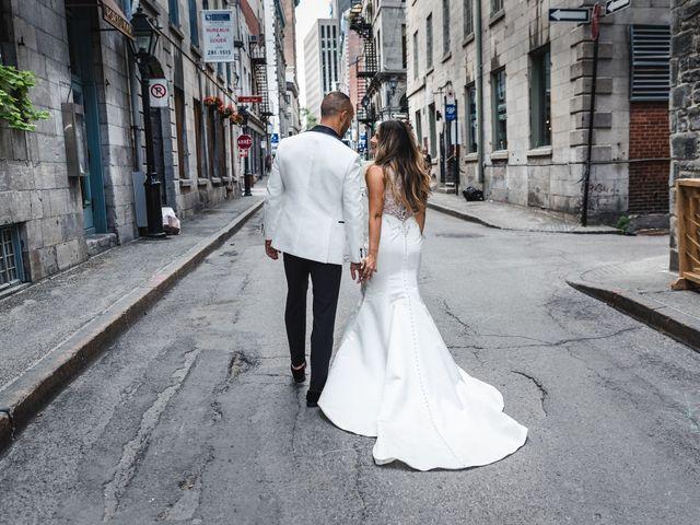 Salim and Alesia's wedding in La Prairie, Quebec 20