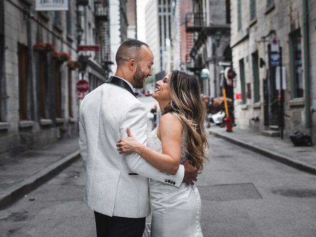 Salim and Alesia's wedding in La Prairie, Quebec 22