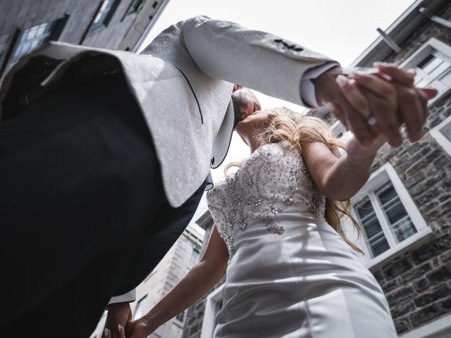 Salim and Alesia's wedding in La Prairie, Quebec 23