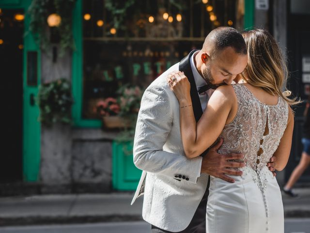 Salim and Alesia's wedding in La Prairie, Quebec 24