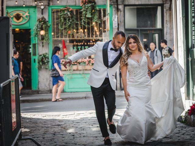 Salim and Alesia's wedding in La Prairie, Quebec 25