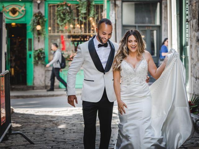 Salim and Alesia's wedding in La Prairie, Quebec 26