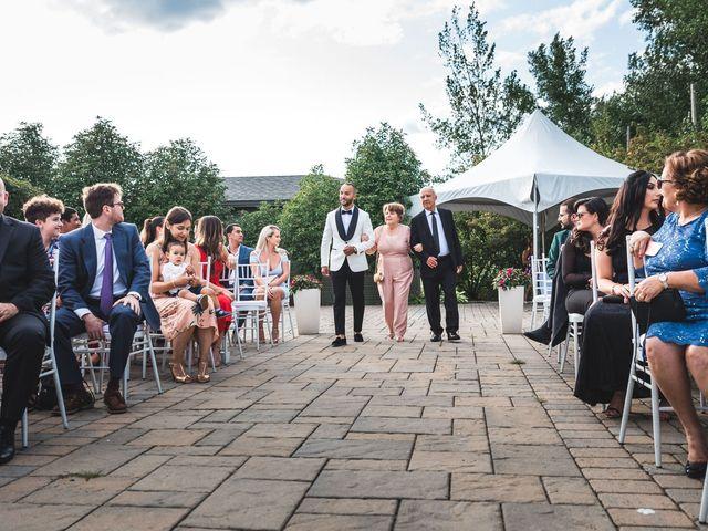 Salim and Alesia's wedding in La Prairie, Quebec 29