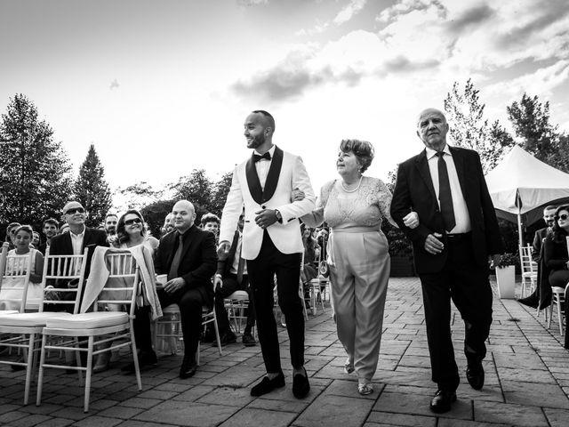Salim and Alesia's wedding in La Prairie, Quebec 30