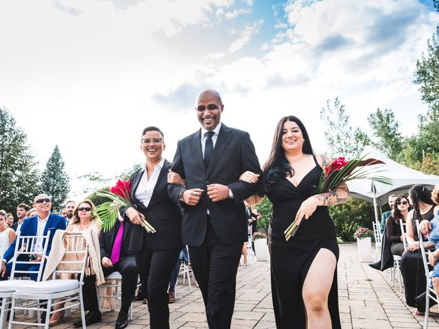 Salim and Alesia's wedding in La Prairie, Quebec 32