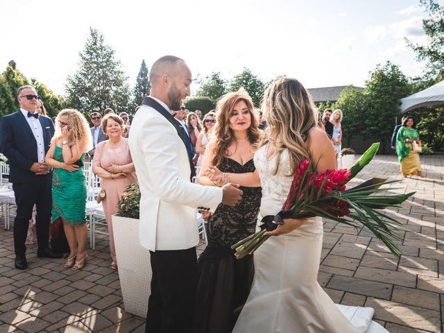Salim and Alesia's wedding in La Prairie, Quebec 35