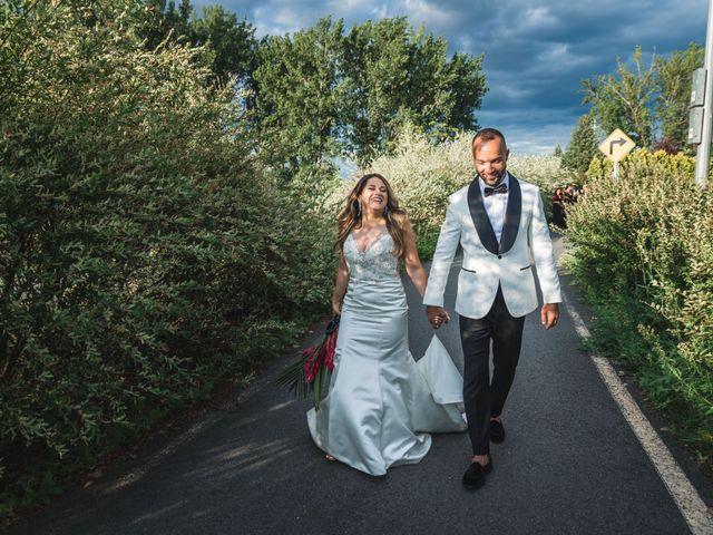 Salim and Alesia's wedding in La Prairie, Quebec 37