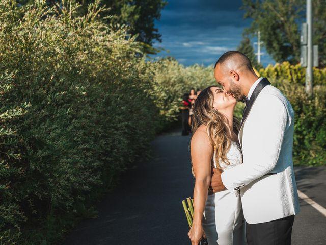 Salim and Alesia's wedding in La Prairie, Quebec 38