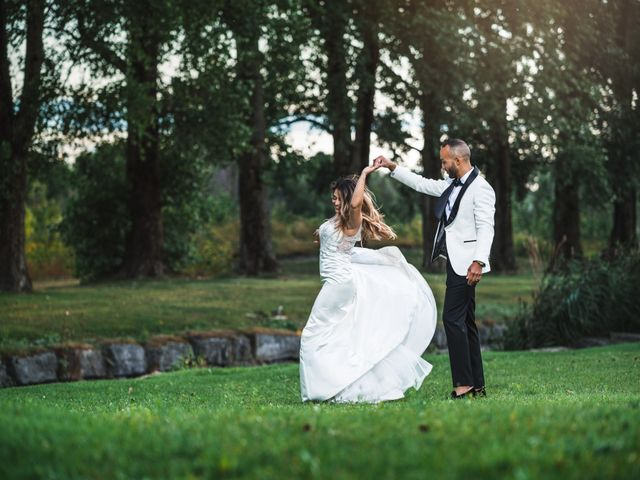 Salim and Alesia's wedding in La Prairie, Quebec 39