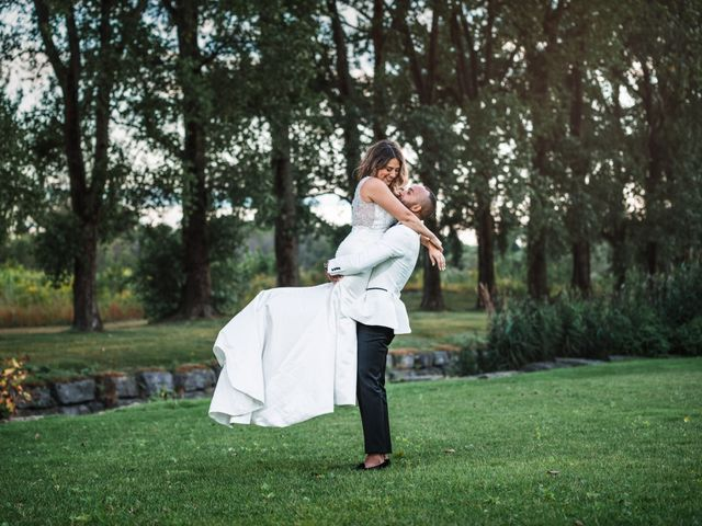 Salim and Alesia's wedding in La Prairie, Quebec 40
