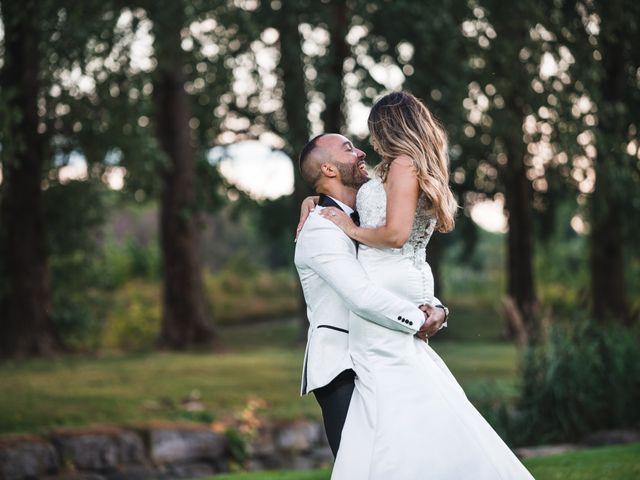 Salim and Alesia's wedding in La Prairie, Quebec 41