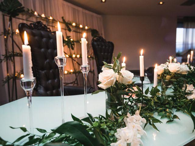 Salim and Alesia's wedding in La Prairie, Quebec 43