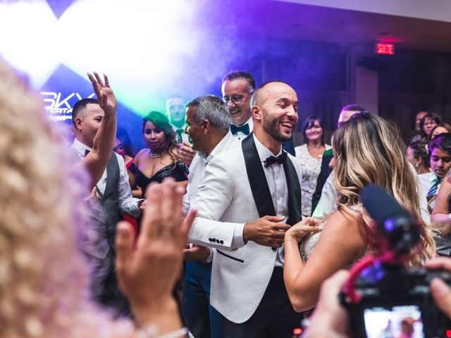 Salim and Alesia's wedding in La Prairie, Quebec 45