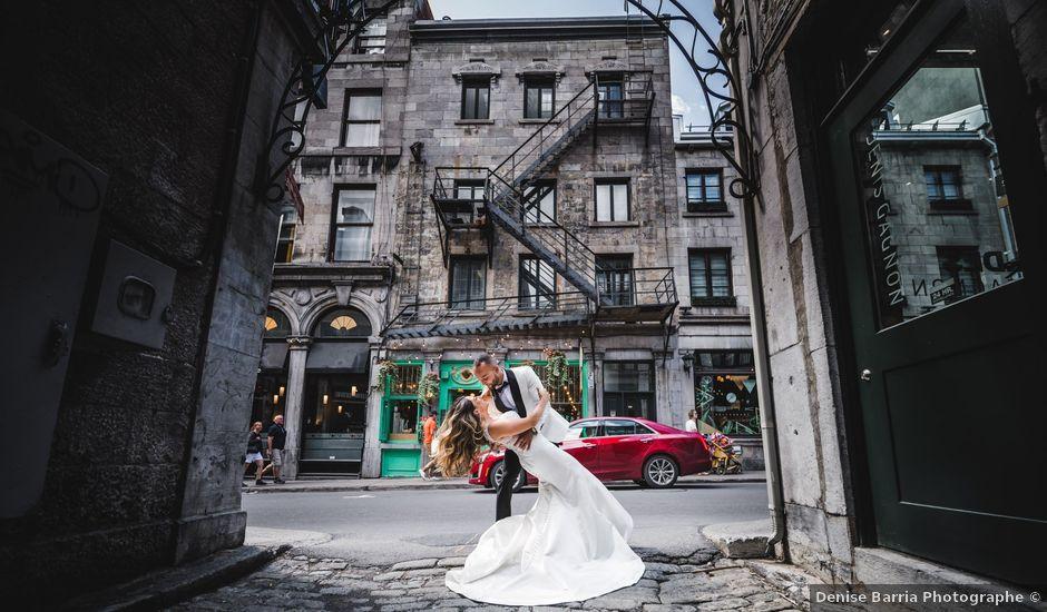 Salim and Alesia's wedding in La Prairie, Quebec