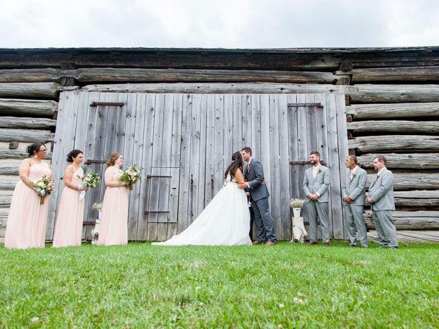 The wedding of Kaitlyn and John