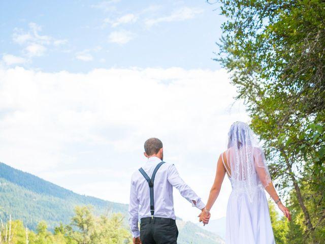 Brandon and Daniel's wedding in Nelson, British Columbia 1