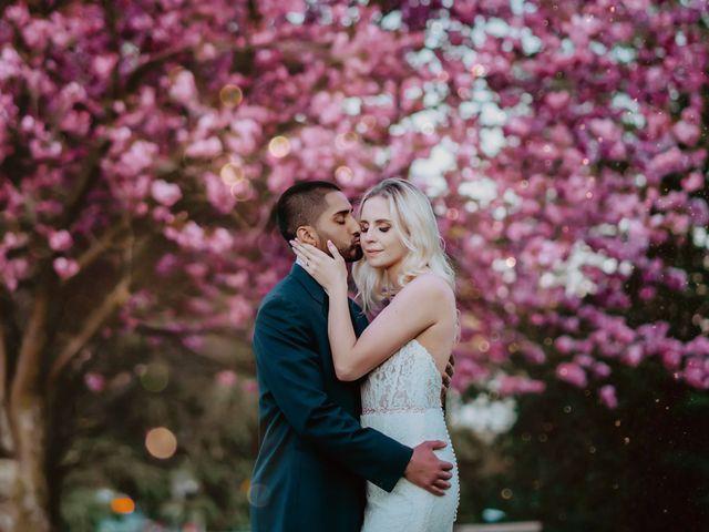 The wedding of Kristy and Matt