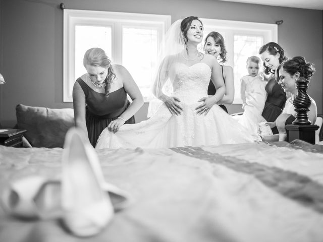 Cameron and Nicole's wedding in Mississauga, Ontario 3
