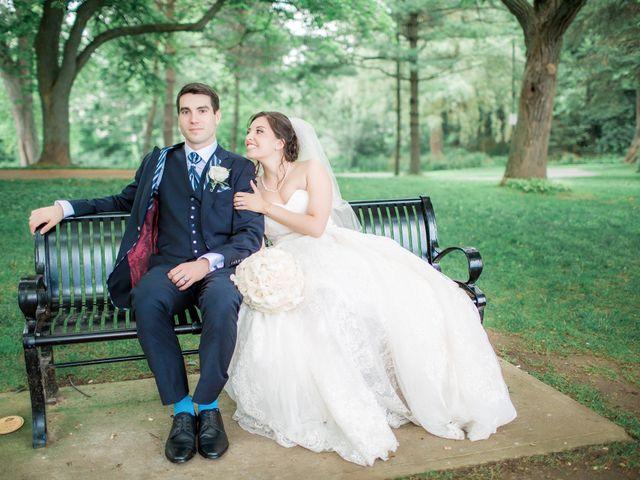 The wedding of Nicole and Cameron