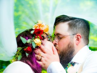 The wedding of Amber and Greg