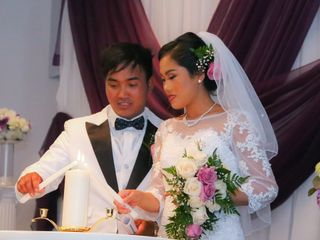 The wedding of Nu Sung and Sangte