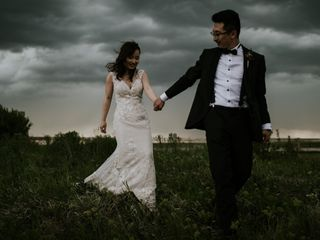 The wedding of Stef and Tian