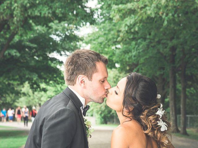 The wedding of Alba and David