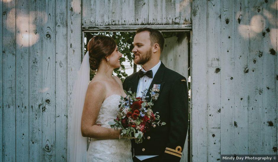 Gary and Sarah's wedding in Halifax, Nova Scotia