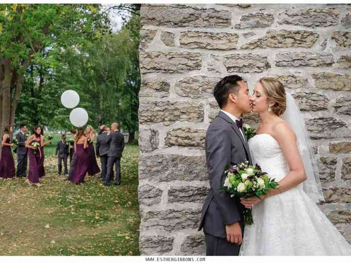 The wedding of Kaysy and Brian