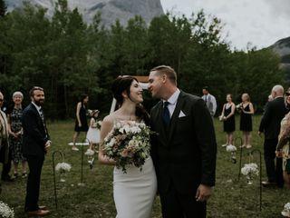 The wedding of Kathy and Chris