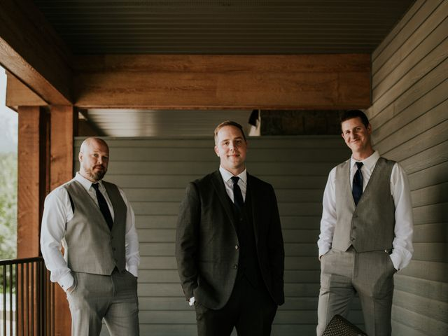 Chris and Kathy's wedding in Canmore, Alberta 4