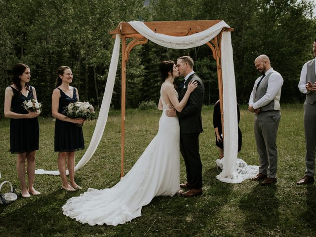 Chris and Kathy's wedding in Canmore, Alberta 1