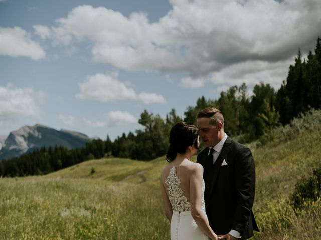 Chris and Kathy's wedding in Canmore, Alberta 17