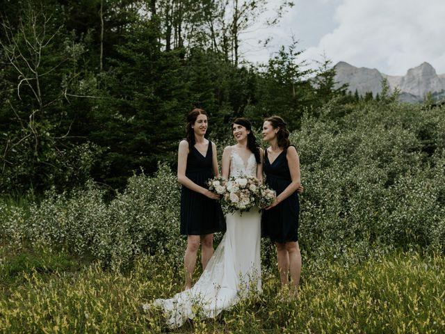 Chris and Kathy's wedding in Canmore, Alberta 18