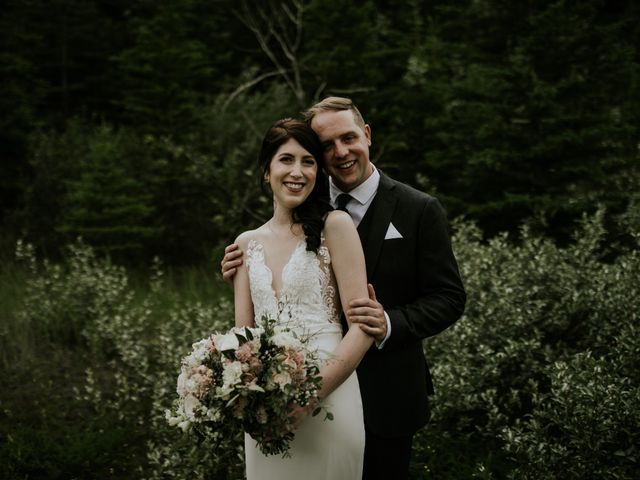 Chris and Kathy's wedding in Canmore, Alberta 19