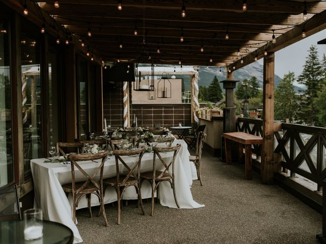 Chris and Kathy's wedding in Canmore, Alberta 22