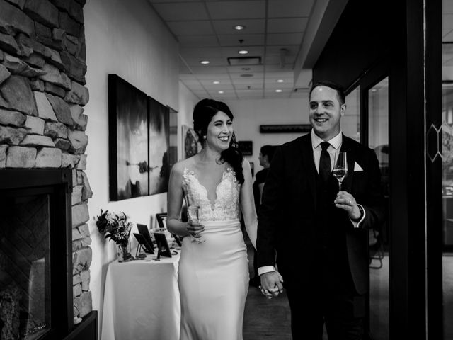 Chris and Kathy's wedding in Canmore, Alberta 24
