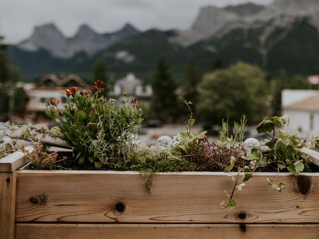 Chris and Kathy's wedding in Canmore, Alberta 26