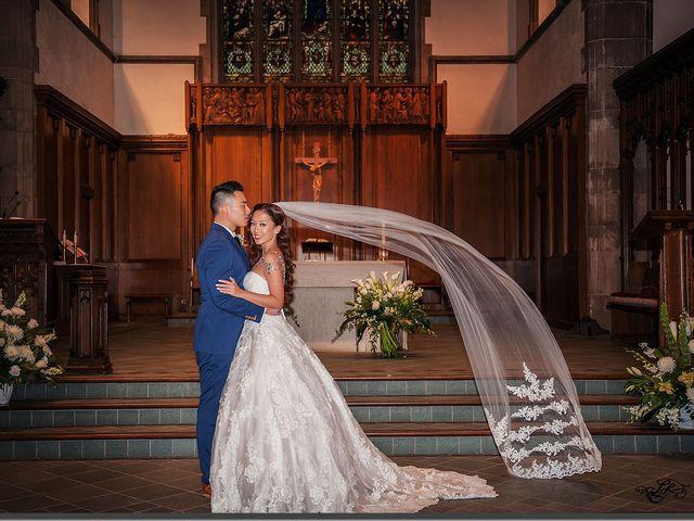 The wedding of Correne and Jude